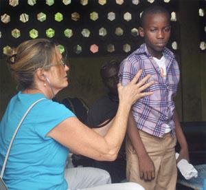 Dr. Sue Murray in Haiti